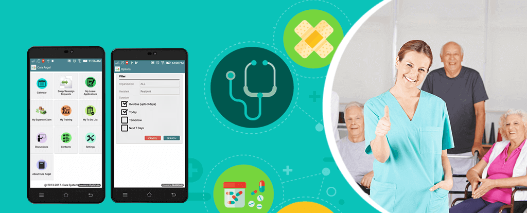 Cura Angel, Mobile Care App for Care Workers
