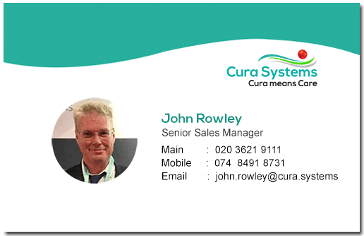 Cura Systems, Sales John Rowley