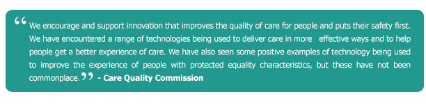 Care Quality Commission, Electronic Care Systems