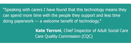 Digital Systems, CQC Chief Inspector