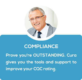 Cura Systems, Care Home Software for Compliance