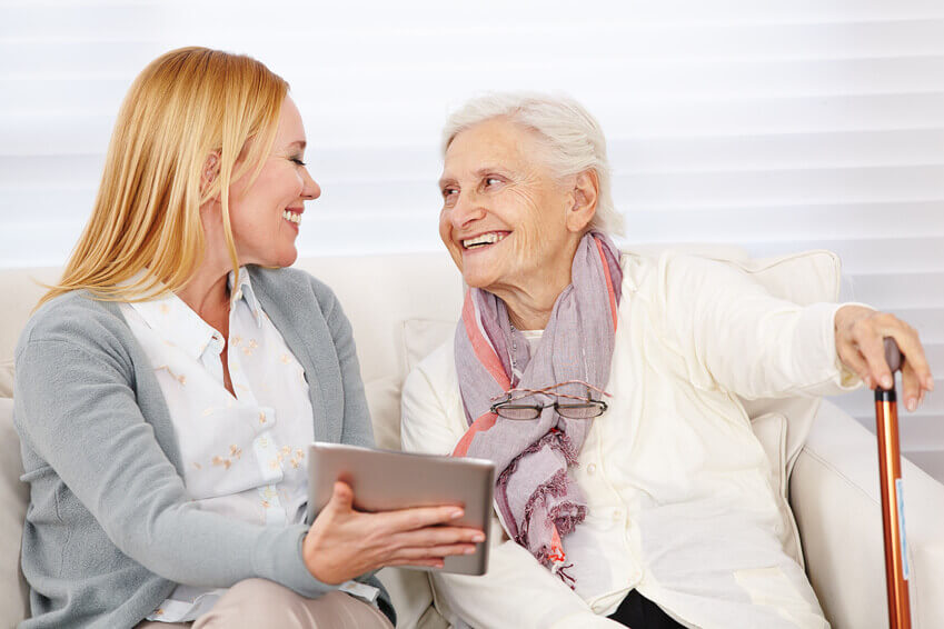 Cura Systems, Tablet-based Care Home Software