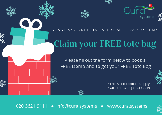 Cura Means Care, 12 Days of Christmas