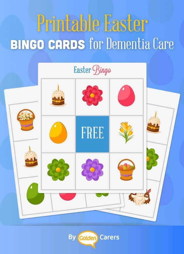Cura Means Care, Easter Bingo